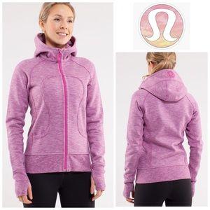 LULULEMON   Scuba Cotton Hoodie Ultra Violet Sz 2